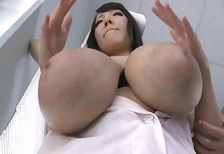 Hitomi Tanaka and Katerina Hartlova - Busty Asian Masseuse In Decree