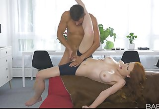 Yoga-lover Isabella Lui gives it nearby when her ally arrives