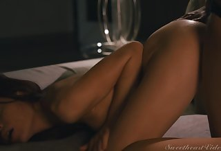 Sabina Rouge, Brittney Amber - Lesbian Anal Vol. 5 Scene 3 - Anal In excess of The First Date
