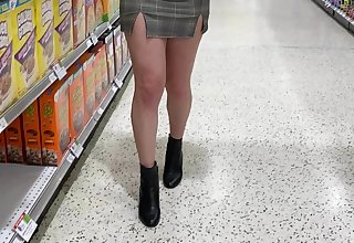 I never wear bra or panties...even greatest extent grocery shopping!