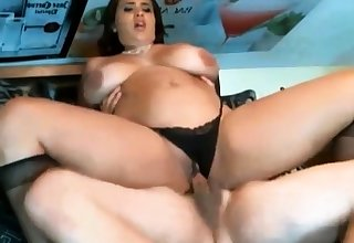 Chunky Chick Fucked Up Panties On