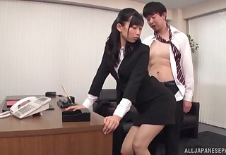 Amazing making out in the office with alluring secretary Kurokawa Sumire