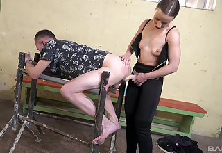 Dominant neonate Lilith Sweet enjoys pegging her husband. HD