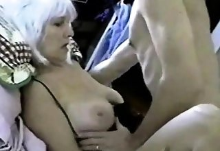 Mature tolerant takes hubby's load