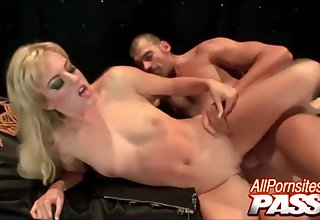 Sexy Latex Clad Blonde Live Sexual connection With Angela Stone Together with Ela Stone