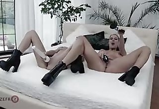 Aby Action with the addition of Texas Patti lesbian leman with vibrators