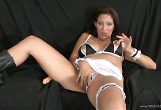 Homemade video apropos a criminal maid being dicked properly - HD