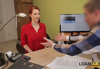LOAN4K. Desirable redhead wants a vet sanitarium and knows