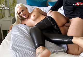 My Dirty Hobby - Busty ass fucked in leather pants