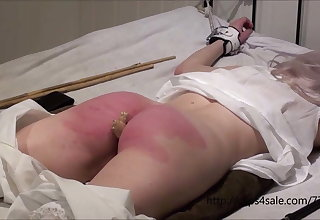 Petite Victorian girl getting a hard punishment