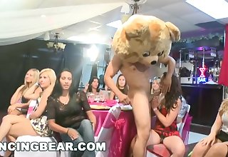 DANCING BEAR - Crazy Party Girls Get Copulated By Male Strippers