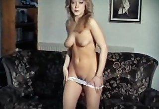 TAKE Heavens ME - vintage 80's take-off dance stockings blonde
