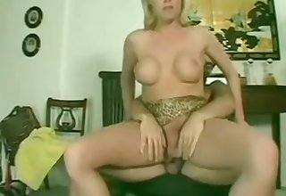 Light-complexioned tranny sucks together with fucks 2