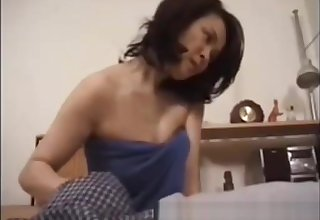 Japanese mateur in the matter of younger bj