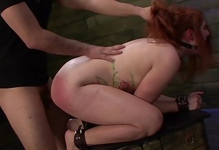 Big ass redhead dominated and fucked thither merciless XXX