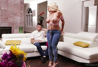 Curvy MILF Kylie Kingston has always enjoyed sexual congress with younger often proles