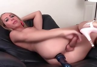 Golden tgirl Danyka In lusty Alone Thing