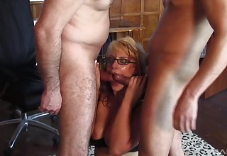 One enduring dicks can fill all sexual needs of hot and wild blonde
