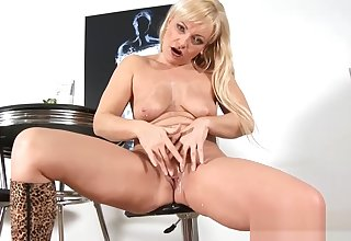 Lush Milf Renata Light of one's life Hot Young Son