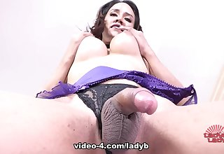 Beautiful Milk Strips, Toys And Cums - Ladyboy-Ladyboy
