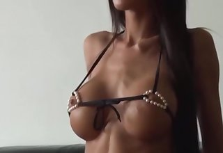 Nessa Photoshooting for Pearl Bikini unconnected with Troc