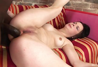 Special hardcore sexual connection for the young amateur in hot interracial XXX