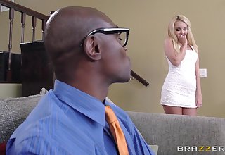 Big black detect for pretty good housewife Aaliyah Love and she loves it