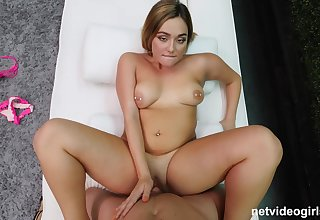 Stunning POV showing Natalie getting the dig up hard