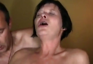 Homemade German couple commiserate with mutual slander with wet orgasmus