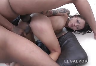 Shut up shop girl taking a big dick
