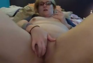 This woman is infinitely crotchety and she loves rubbing her twat on cam